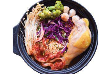 Mỳ Kim Chi Đùi Gà